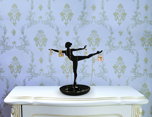 Kikkerland Design Inc » Products » Jewelry Stand + Ballerina
