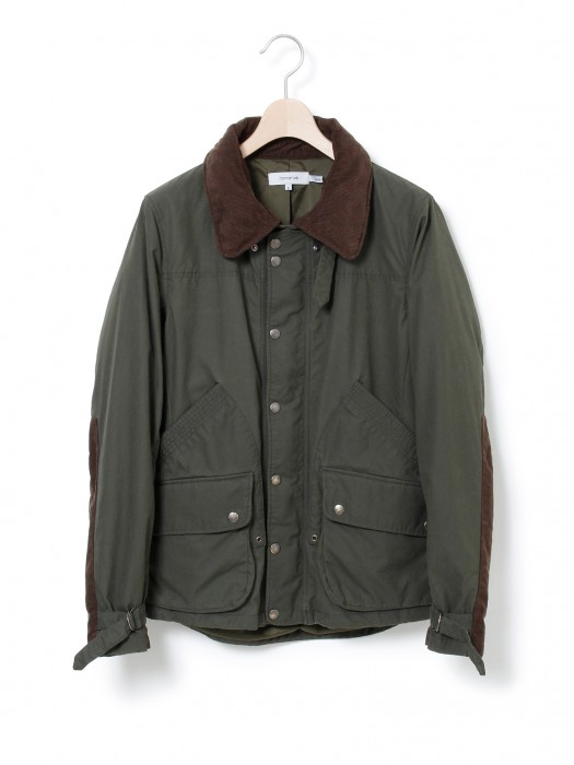 nonnative » HIKER JACKET – COTTON TWILL WAXED British Millerain Driden®