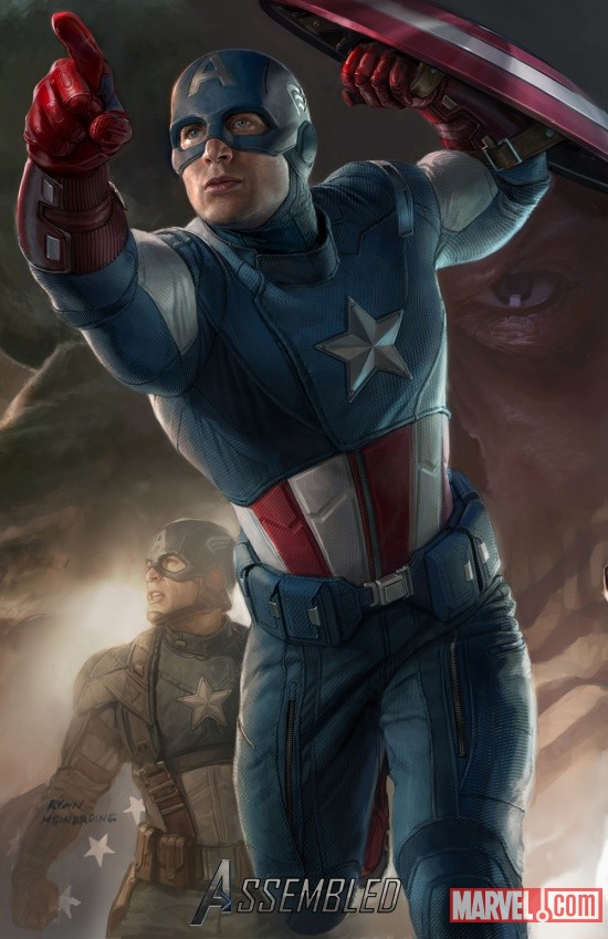 Captain America SDCC 2011 exclusive concept art poster | Marvel Images | Downloads & Extras | Marvel.com