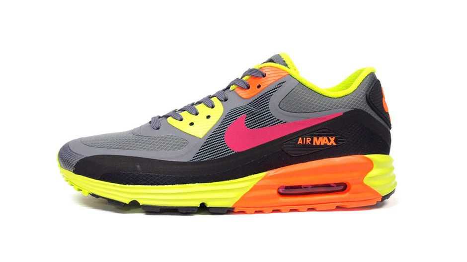 """AIR MAX LUNAR 90 WR """"LIMITED EDITION for ICONS"""" GRY/YEL/ORG ナイキ NIKE 