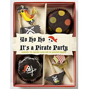Pirate Cupcake Set