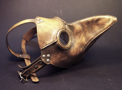 Tom Banwell, plague doctor's mask - anything could happen