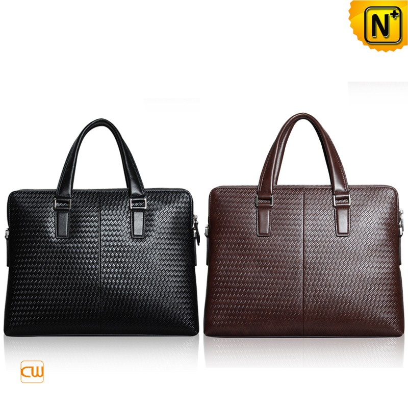 Mens Leather Business Briefcase Bags CW915098