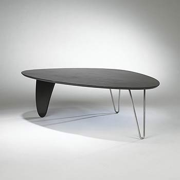 Rudder coffee table, model IN-52 | Wright