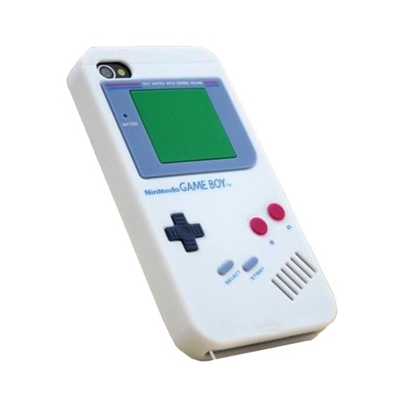 Retro Nintendo Gameboy Luck Cases and Covers for iPhone 4/4s