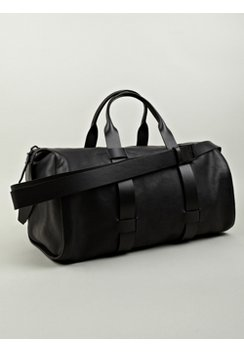 Men's Leather Day Bag | Luxury Gym Bag | Troubadour Goods