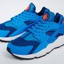 round about: NIKE AIR HUARACHE GYM BLUE/PHOTO BLUE/MANGO