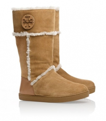 【LASO ラソ】2012F/W新作【円高還元 TORY BURCH 】amelie SHEARLING BOOT VICUNA トリー・バーチ