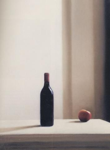 Gerhard Richter » Art » Paintings » Photo Paintings » Bottle with Apple » 663-2