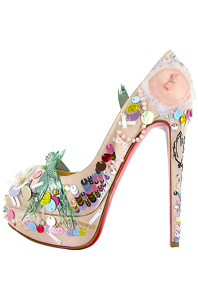OOOK - Christian Louboutin - Women's Shoes 2012 Spring-Summer - LOOK 34
