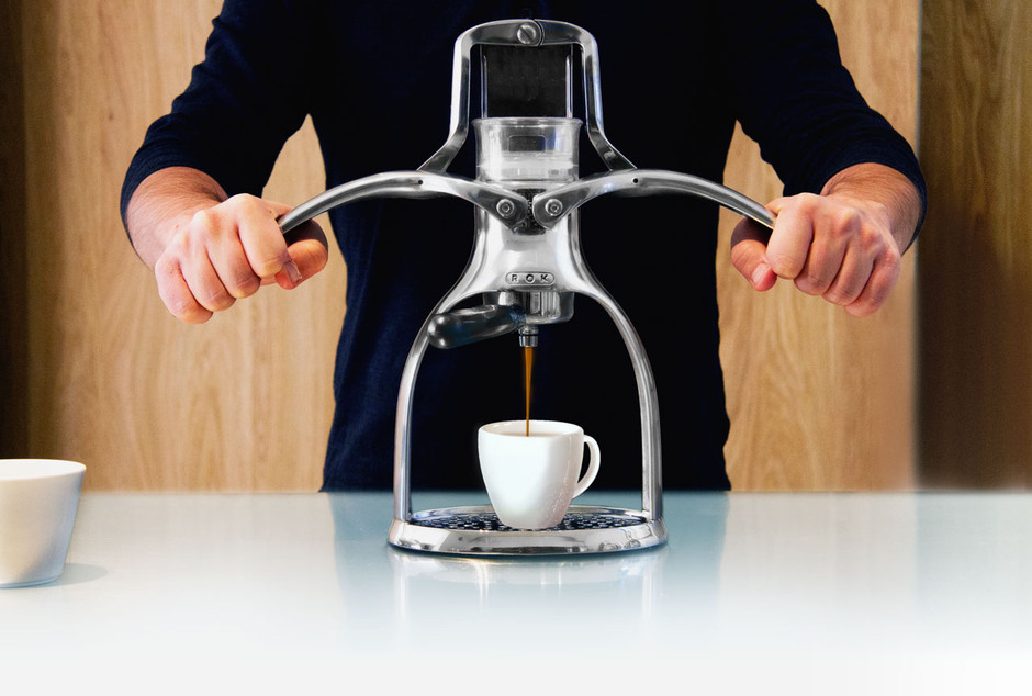 ROK | Homepage for the ROK espresso maker