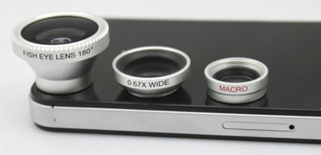 Enhance Your Mobile Photos With A 3-In-One iPhone Photo Lens : 気になるガジェットどんどん追加まとめ - NAVER まとめ