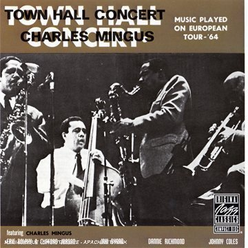 Amazon.co.jp: Town Hall Concert: Charles Mingus: 音楽