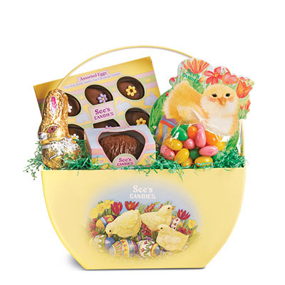 Easter Surprise Basket   See's Candies