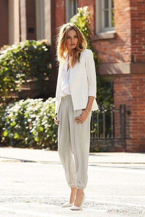 #white and gris in the sunshine... | le chic | Pinterest