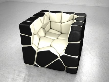 Fauteuil Vuzzle Chair de Christopher Daniel | Mobilier | PIeri.fr – Design – Innovation – Decoration