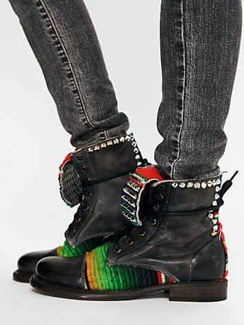 Bed | Stu Denver Studded Boot at Free People Clothing Boutique