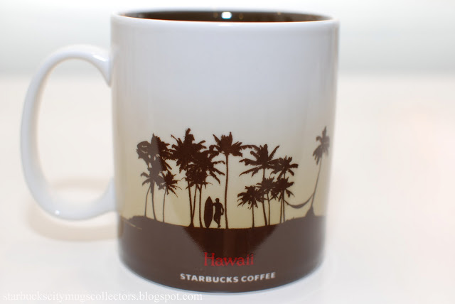 Starbucks City Mugs: HAWAII ICON MUG