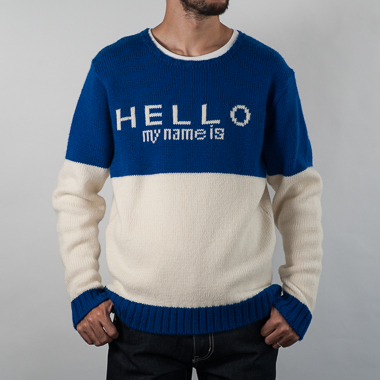 HELLO MY NAME IS(BLUE) - SON OF THE CHEESE ONLINE SHOP