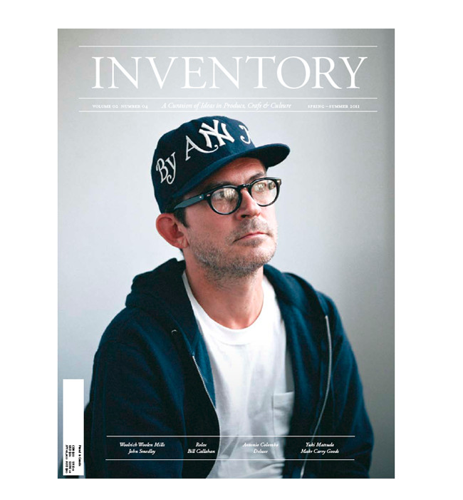 Inventory Stockroom ? INVENTORY Volume 02 Number 04<br>Mark McNairy Cover