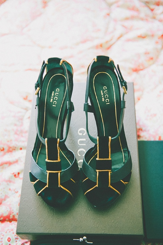 Fashion Magic / emerald Gucci