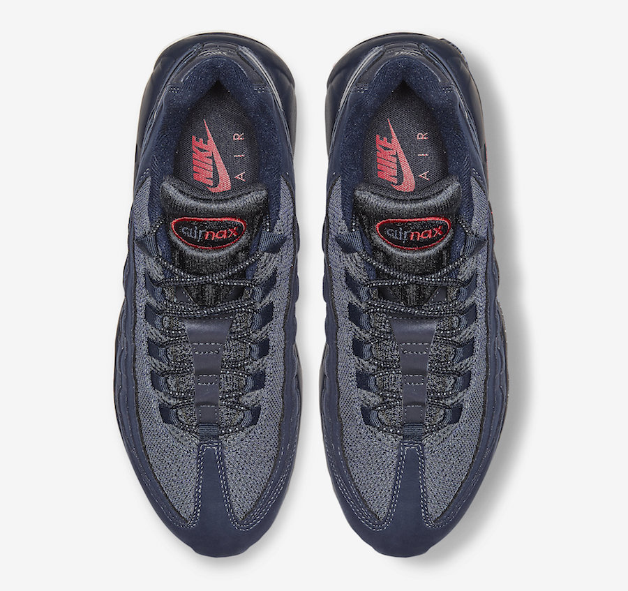 Nike Air Max 95 Navy Red CQ4024-400 Release Date - SBD