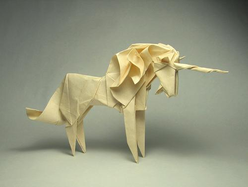 Origami Unicorn by Origami Roman | AnOther | Loves