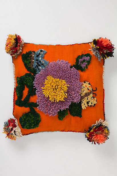 Tufted Flower Pillow - Anthropologie.com