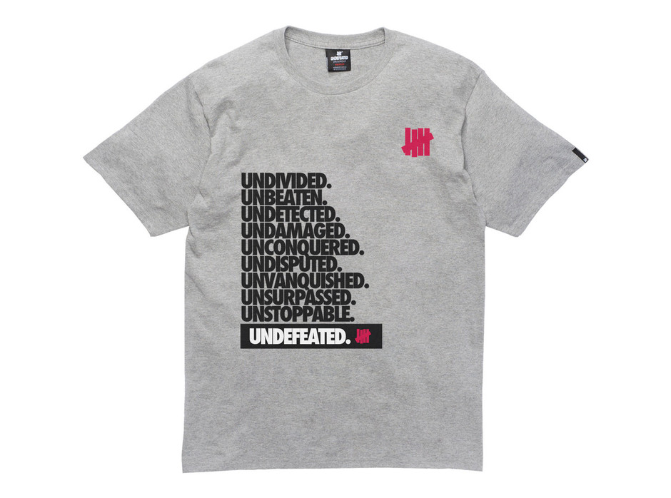 UNDEFEATED UNDIVIDED TEE   New Arrivals     UNDEFEATED.JP