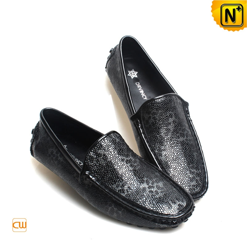 Mens Leather Driving Moccasins CW740164