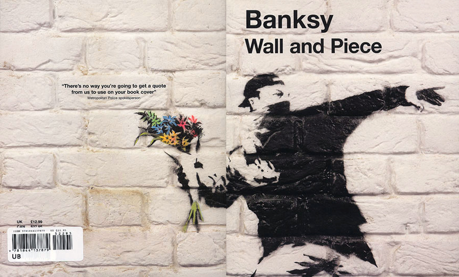 Amazon.co.jp: Wall and Piece: Banksy(バンクシー), 廣渡 太郎: 本