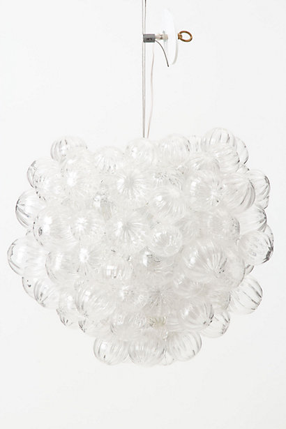 Bubbling Glass Chandelier - Anthropologie.com