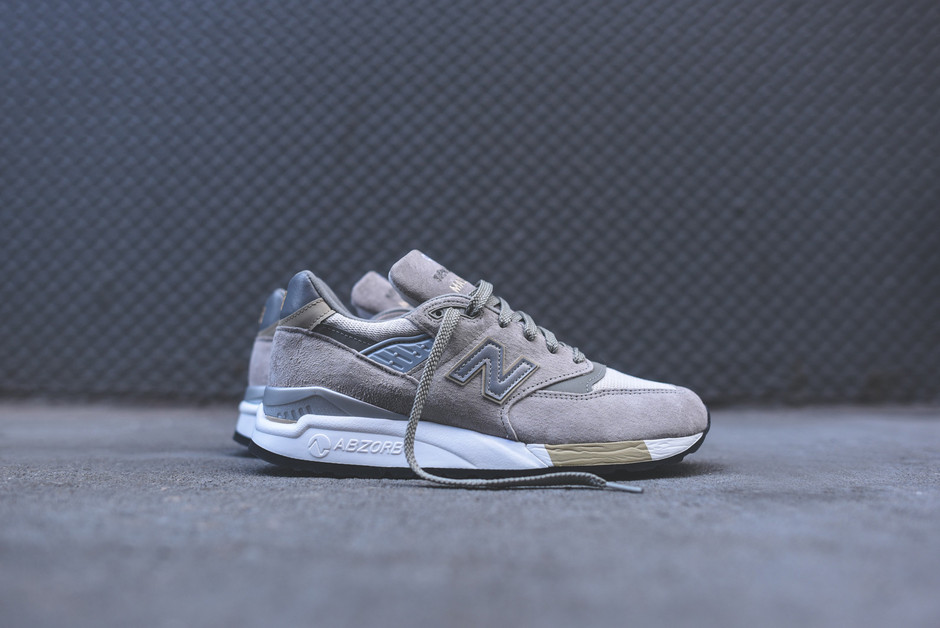 New Balance M998CEL - Made in the USA - Grey/Silver
