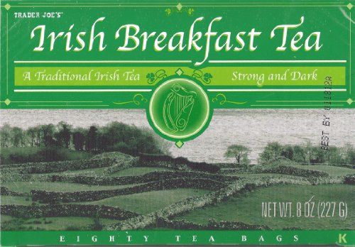 Amazon.com: Trader Joe's Irish Breakfast Tea, A Traditional Irish Tea, Strong and Dark, 80 Tea Bags: Everything Else