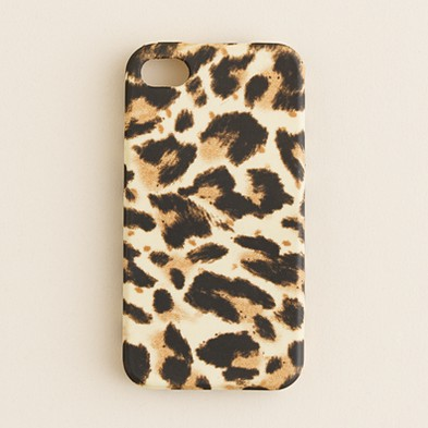 Women's accessories - tech gear - Printed iPhone 4 case - J.Crew
