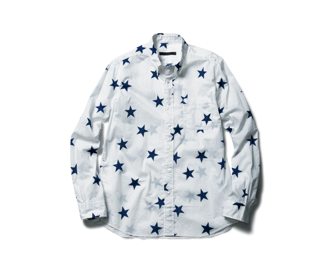 SOPHNET. | PRODUCT | STAR B.D SHIRT