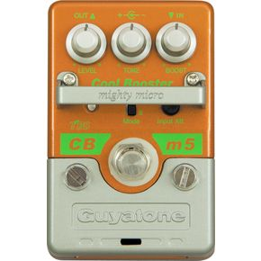 Guyatone Mighty Micro Series CBm5 Cool Booster Guitar Effects Pedal の通販 | カラメル