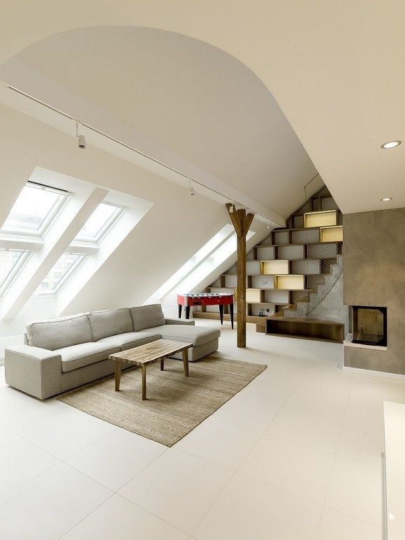 Rounded Loft by A1 Architects | GBlog