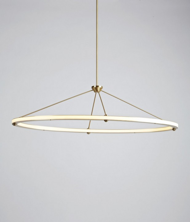 Halo Oval Pendant - Roll & Hill
