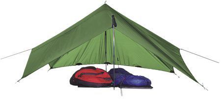 Exped-Scout Tarp Extreme- travel light; fast; comfortably!