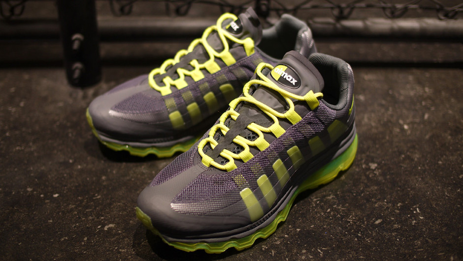 AIR MAX 95 + BB 「LIMITED EDITION for EX」 GRY/BLK/YEL ナイキ NIKE | ミタスニーカーズ|ナイキ・ニューバランス スニーカー 通販