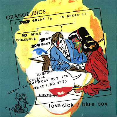indiefference(indi.fer.uhns): orange juice - love sick/blue boy cd5 re-issue 19??