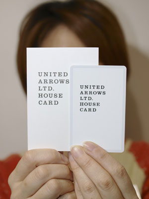 HOUSE CARDのご案内 / Blog | UNITED ARROWS Outlet