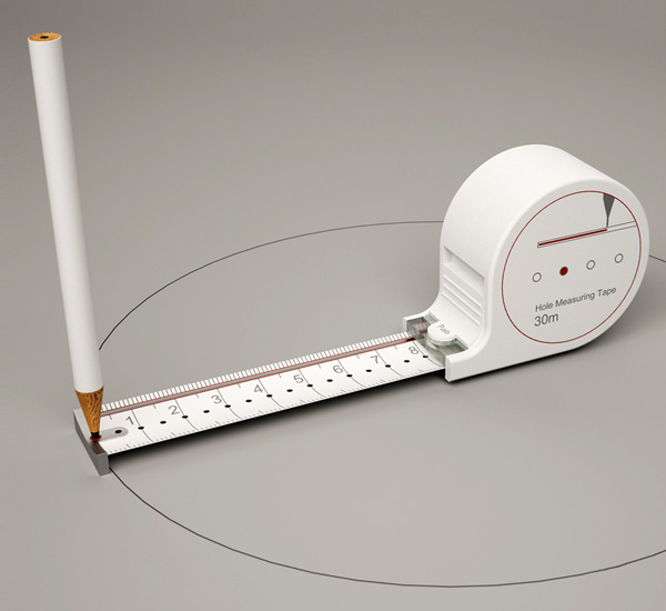 Hole Measuring Tape by Sunghoon Jung » Yanko Design