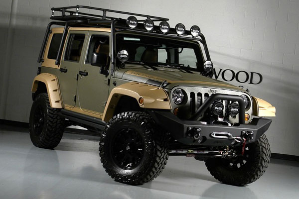 Custom Jeep Wrangler Unlimited by Starwood Motors | Dream Garage | Essential Style for Men.