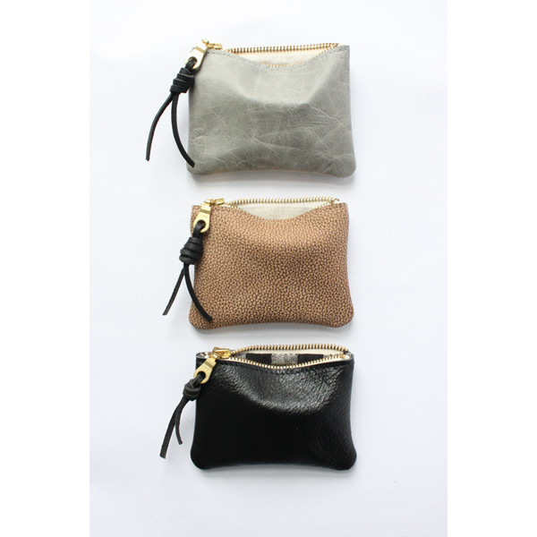 rennes — Four Inch Pouch - Moon