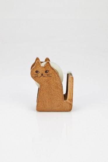 Miranda cat tape dispenser - ShopSosie.com