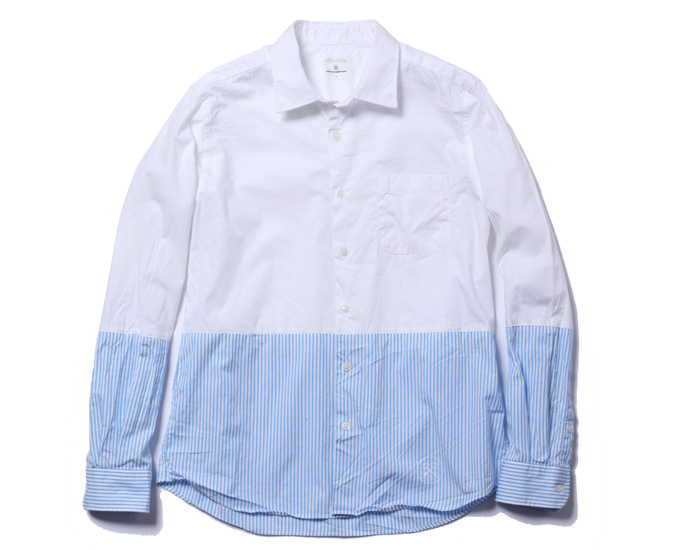 uniform experiment | PRODUCT | L/S 2 TONE REGULAR COLLAR SHIRT