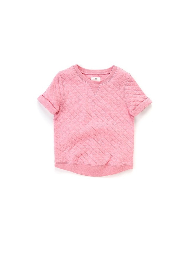 Country Road-Girl's New In Online - Quilted Short Sleeve Sweat
