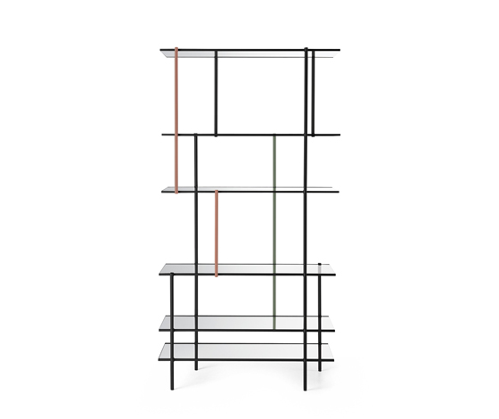 'Drizzle' shelving system by Luca Nichetto for Gallotti & Radice (IT) @ Dailytonic